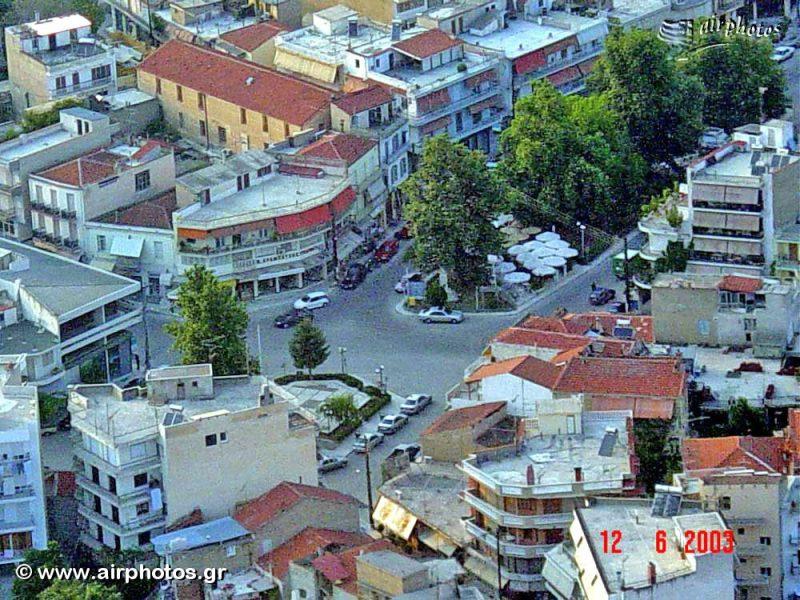 αεροφωτογραφία του κέντρου της Νιγρίτας
